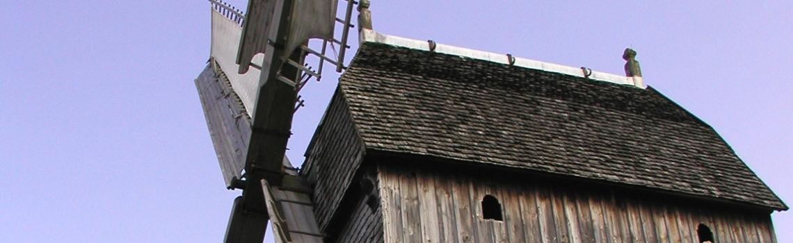 Windmühle im Bauernhausmuseum, Detmold