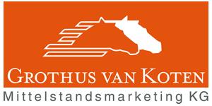 Logo Grothus van Koten Mittelstandsmarketing KG