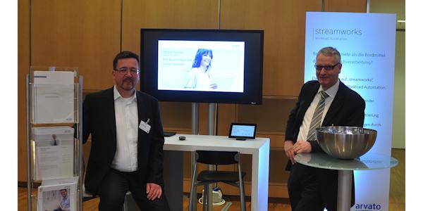 """SAP Bordmittel mit """"streamworks"""" von arvato Systems erweitern"""