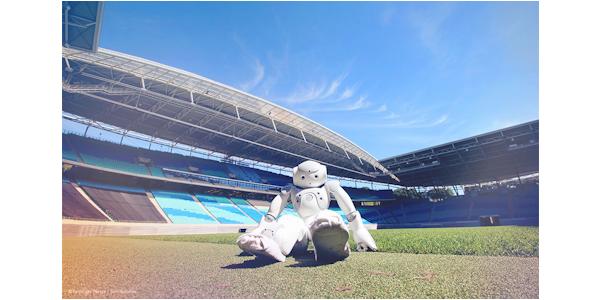 Beim RoboCup 2016 treten fußballspielende Roboter gegeneinander an, © arvato Systems 2016