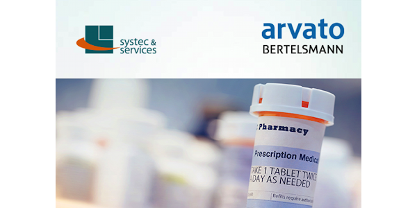 Serialisierung in der Pharmabranche – Systec und arvato gehen strategische Partnerschaft ein