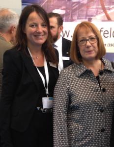 Dr. Anja Padberg und Dr. Astrid Schwarzer, IT&Media Future Congress, Bielefeld 2016, ©Margarete Keulen/ITK-OWL.de 2016