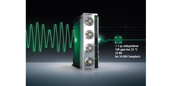 EtherCAT-Messtechnikmodule von Beckhoff: Äußerst präzise, schnell und robust.