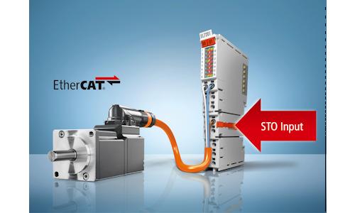Die neuen Servoklemmen EL72x1-9014 mit STO (Safe Torque Off) ermöglichen extrem kompakte und systemintegrierte Antriebslösungen, ©Beckhoff Automation GmbH & Co. KG 2016