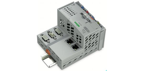 Der PFC200 von WAGO baut den VPN-Tunnel zur Übertragung verschlüsselter Daten direkt über OpenVPN oder IPsec aus der Steuerung heraus auf, ©WAGO Kontakttechnik GmbH & Co KG 2016