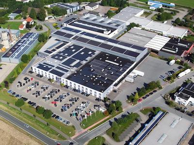 WORTMANN AG, Hauptgebäude, © WORTMANN AG 2017