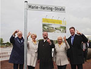 Marie-Harting-Straße, © Harting 2017