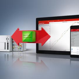Mit dem TwinCAT IoT Communicator und der IoT Communicator App von Beckhoff Automation lässt sich mit mobilen Endgeräten komfortabel und sicher auf Prozessdaten zugreifen, ©Beckhoff Automation GmbH & Co. KG 2018