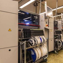 AGFEO investiert in die Standortsicherung in Bielefeld: Eine neue SMT-Linie wurdeangeschafft, ©AGFEO GmbH & Co. KG 2019
