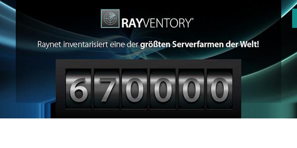 RayVentory bricht alle Rekorde, © Raynet GmbH 2019